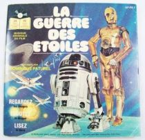 La Guerre des Etoiles - Livre-Disque 45t - Disques Ades 1980