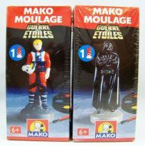 La Guerre des Etoiles - Mako Moulage - Lucke Skywalker & Darth Vader 01