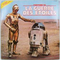La Guerre des Etoiles - Record-Book LP - Disques Ades 1983