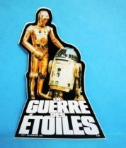 La Guerre des Etoiles (Star Wars) 1978 - French Promotional Sticker (10cm)