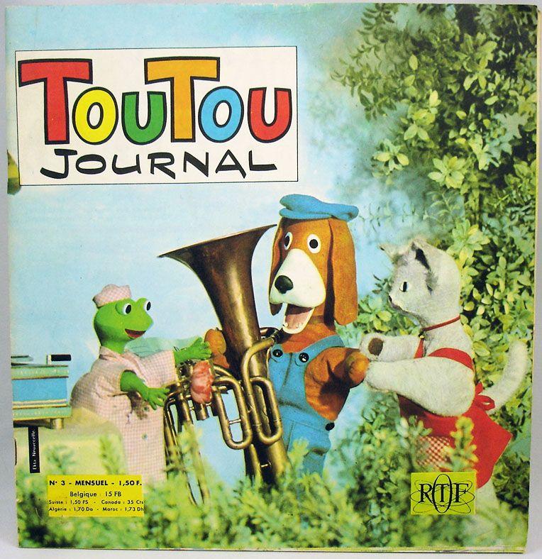 La maison de toutou toutou journal mensuel n 03 ortf 1967 - Magazine le journal de la maison ...