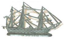 La Maison du Café The Navy (demi-rond de bosse) 2nd series Boats Le Bretagne