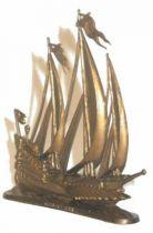 La Maison du Café The Navy (demi-rond de bosse) 3rd series Boats Galeasse