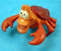 La Petite Sirène - Figurine pvc Disney 1990 - Sebastien
