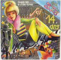 La Vie des Botes - Disque 45Tours - J\'ai 14 ans - Saban Records 1986