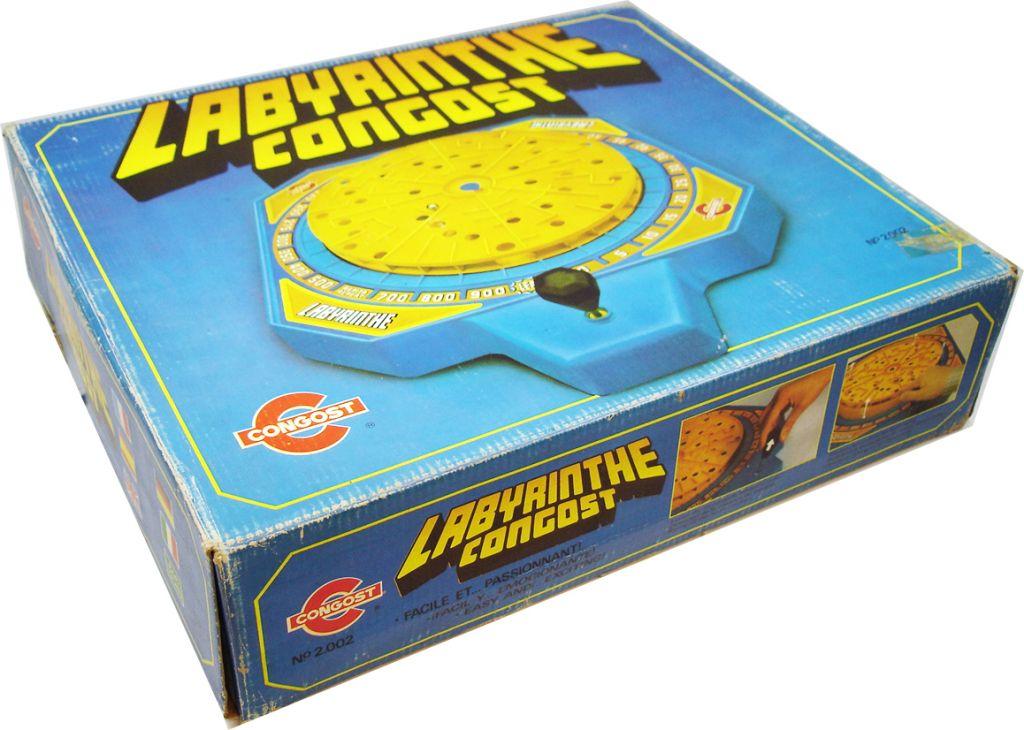 Labyrinthe Congost - Jeu d\'adresse mécanique - Congost 1979 (1)