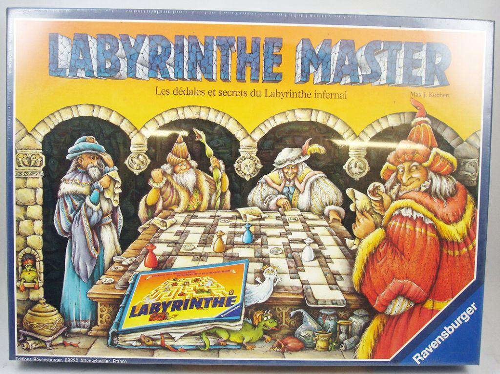A quoi joue en société, un Gamopat - Page 3 Labyrinthe-master---jeu-de-plateau---ravensburger-1991---p-image-326973-grande