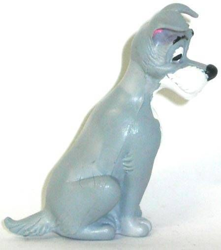 Lady and the Tramp - Comic Spain PVC figure - Tramp