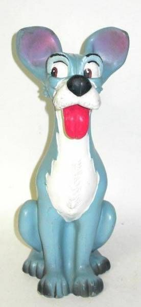 Lady and the Tramp - Delacoste squeeze toy -  Tramp