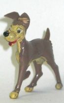 Lady and the Tramp - Jim plastic figure - Tramp