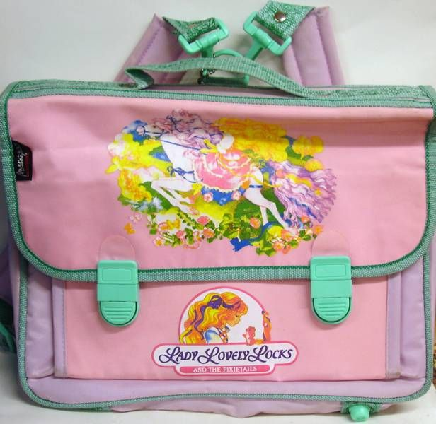 Lady Lovely Locks - Schoolgirl backpack - Menzer