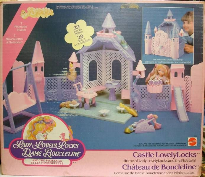 Lady Lovely Locks Mint in box Castle Lovelylocks playset