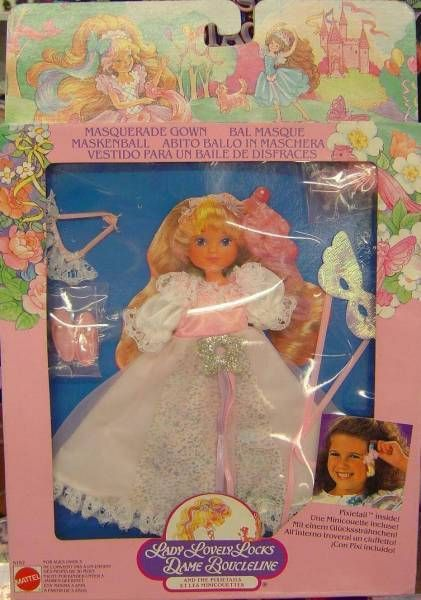 Lady Lovely Locks Mint in box Masquerade Gown outfit