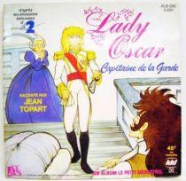 Lady Oscar - Mini-LP Book-Record - Lady Oscar, Guard Captain - Ades / Le Petit Menestrel Records 1986
