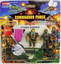 Lansay - Commandos Force - Attaque Surprise avec Médaille d\'Argent