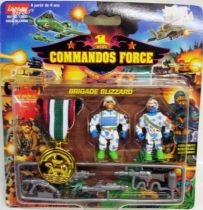 Lansay - Commandos Force - Blizzard Brigade with Gold Medal
