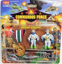 Lansay - Commandos Force - Brigade Blizzard avec Médaille de Bronze