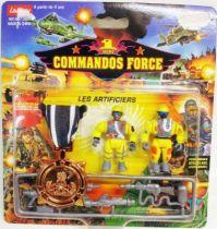 Lansay - Commandos Force - Les Artificiers avec Médaille de Bronze