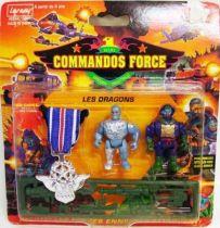 Lansay - Commandos Force - Les Dragons avec Médaille d\'Argent
