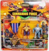 Lansay - Commandos Force - Les Dragons avec Médaille de Bronze