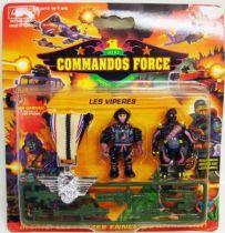 Lansay - Commandos Force - Les Vipères avec Médaille d\'Argent