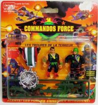 Lansay - Commandos Force - Terror Troops with Silver Medal
