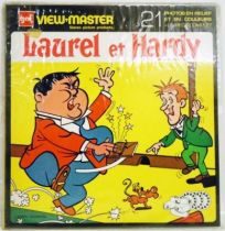 Laurel & Hardy - View-Master 3 discs set + Complet Story