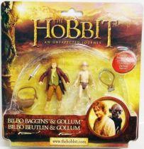 Le Hobbit : Un Voyage Inattendu - Bilbon Sacquet & Gollum