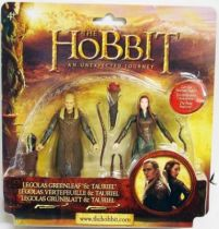 Le Hobbit : Un Voyage Inattendu - Legolas Vertefeuille & Tauriel