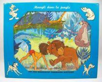 Le Livre de la Jungle - Jeu éducatif Fernand Nathan (Puzzle) - Mowgli dans la jungle