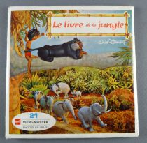 Le Livre de la Jungle - Pochette de 3 View Master 3-D