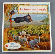 Le Livre de la Jungle - Pochette de 3 View Master 3-D