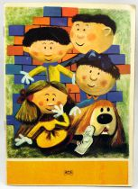 Le Manège Enchanté - Livre de coloriage - Editions ORTF 1965