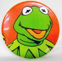 Le Muppet Show - 1977 vintage botton - Kermit