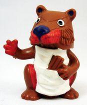Le Petit Echo de la Forêt - Figurine pvc Bully - Guillaume le castor