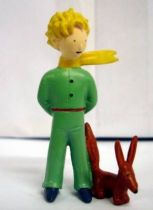 Le Petit Prince avec Renard (A. de St. Exupery) - figurine PVC - Plastoy 1997