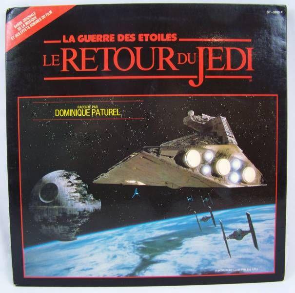 Le Retour du Jedi - Livre-Disque 33T - Disques Ades 1983