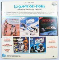 Le Retour du Jedi - Livre-Disque 45t - Disques Ades 1983