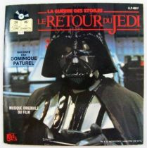 Le Retour du Jedi - Record-Book 45s - Disques Ades 1983