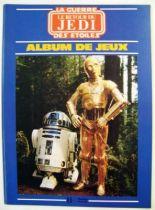 Le Retour du Jedi 1983 - Hachette Jeunesse - Album de Jeux 01
