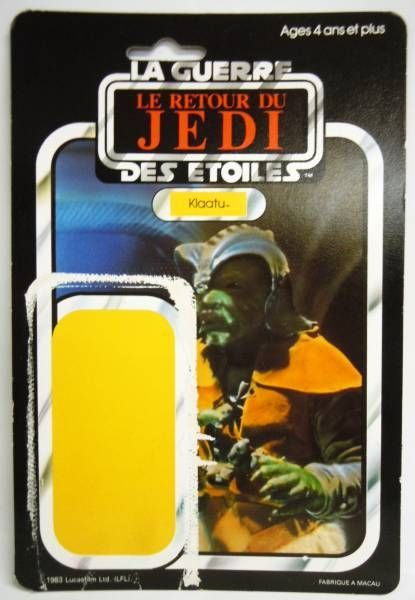 Le Retour du Jedi 1983 - Meccano - Klaatu