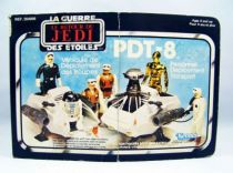 Le Retour du Jedi 1984 - Kenner / Miro-Meccano - Mini Rigs : PDT-8 (loose in canadian box)