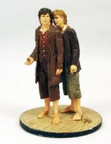 Le Seigneur des Anneaux - Eaglemoss - #020 Frodon & Sam à Fondcombe