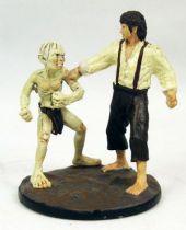 Le Seigneur des Anneaux - Eaglemoss - #060 Frodon & Gollum à la Montagne du Destin