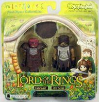 Le Seigneur des Anneaux - Minimates - Grishnakh & Eclaireur Orque