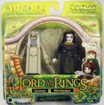 Le Seigneur des Anneaux - Minimates - Saroumane & Grima Langue-de-Serpent