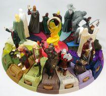 """Le Seigneur des Anneaux - Set de 18 figurines \""""The Ring of Power\"""" - Burger King"""