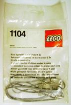 Lego Ref.1104 - Service-Packs : Battery Cables (75cm)