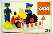 Lego Ref.214 - Road Repair Crew