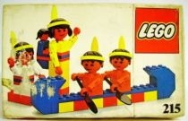 Lego Ref.215 - Red Indians